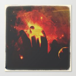 Cosmic Mother Canvas Print