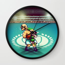 Punch-Out!! Wall Clock
