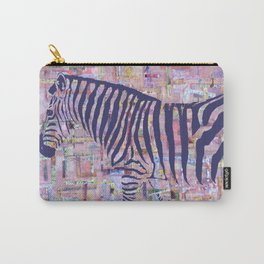 Zelda the Zebra Carry-All Pouch