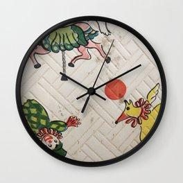 Vintage circus Wall Clock