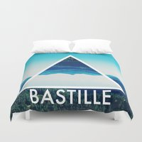 bastille Duvet Covers featuring BASTILLE by Hands in the Sky