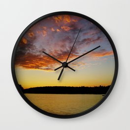What A Sunset Wall Clock