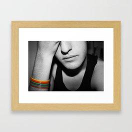 Mr. Homosexual Framed Art Print