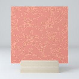 Pink Sand Dollar Mini Art Print