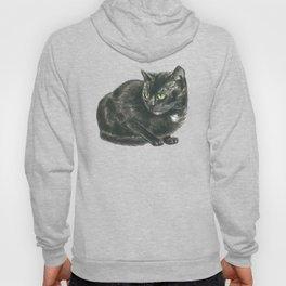 Black cat Hoody