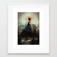 witchcraft Framed Art Prints featuring Witchcraft by Camila Vielmond