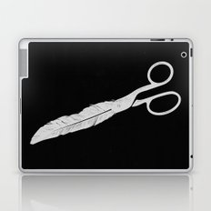 Feathered - On Black. Laptop & iPad Skin