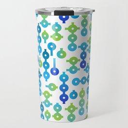 Chemistry Glass simple pattern Travel Mug
