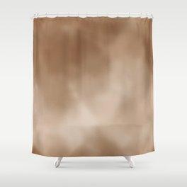 Champagne Antique Foil Shower Curtain