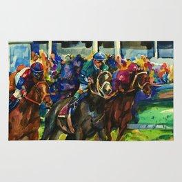 The Race No. 2B by Kathy Morton Stanion Rug