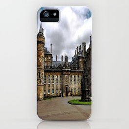 Holyrood Palace - Edinburgh United, Kingdom - Scotland iPhone Case