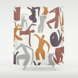 Figurative pattern Shower Curtain