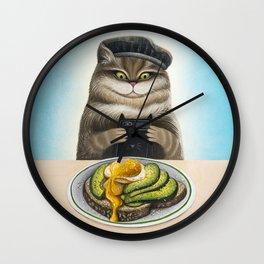 #Brunch Wall Clock