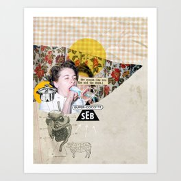 Gourmandise Art Print