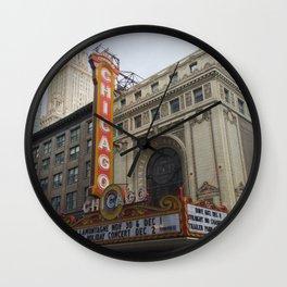 Chicago Theatre Wall Clock