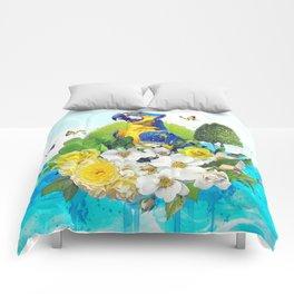 FLORAL PARROT Comforters