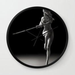 Sword dancer Wall Clock