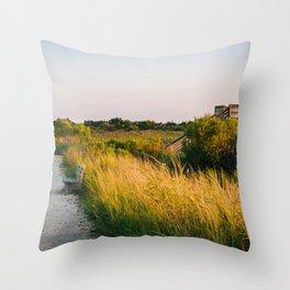 Trail & Blind Throw Pillow