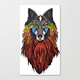 Wolfmother (Fire Wolf) Canvas Print