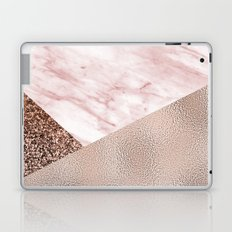 Cotton candy dreams - rose gold Laptop & iPad Skin