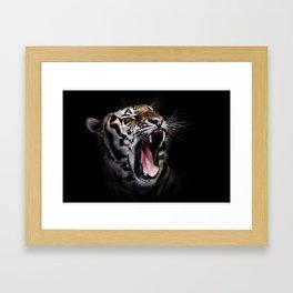 Save animal save Tiger Framed Art Print