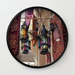Arabian Lanterns  Wall Clock