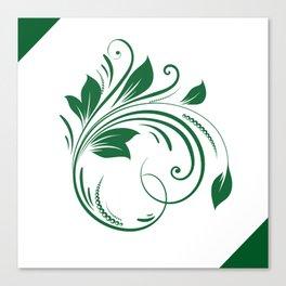 A leaf Canvas Print