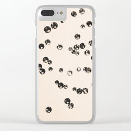 Crystal Stones #1 #shiny #decor #art #society6 Clear iPhone Case