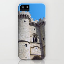 palace of the grandmasters rhodes iPhone Case