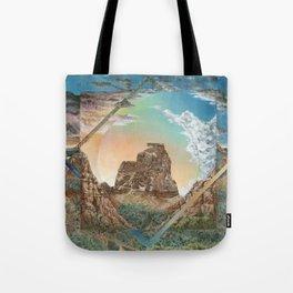Colorado National Monument Polyscape Tote Bag