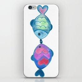 Kissing Fish iPhone Skin