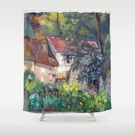 Paul Cézanne House of Père Lacroix Shower Curtain