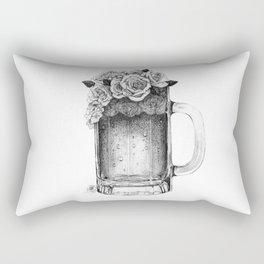 Rose Beer Rectangular Pillow