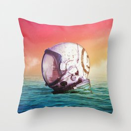 The Feeling Of Waves Throw Pillow