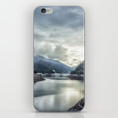 Cougar Reservoir on a Snowy Day iPhone & iPod Skin
