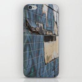 Beltline wall iPhone Skin