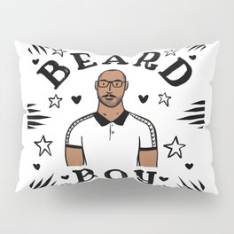 Beard Boy: Jerome 2 Pillow Sham