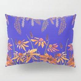Daisy Dreams Blue Pillow Sham
