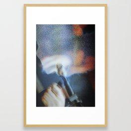 80's Acts of Violence I Framed Art Print