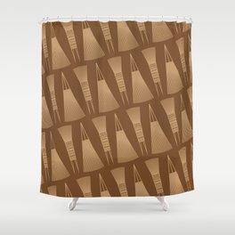 UrbanNesian Fijian I Serusasa (Fijian Comb) Shower Curtain