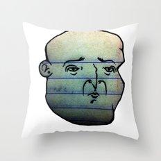 F A C E 2 Throw Pillow