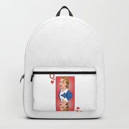 Queen Pop Art Backpack