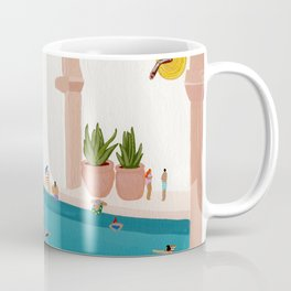 Alcove pool Coffee Mug