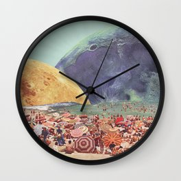 Lunar Beach Wall Clock