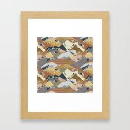 Deserts Travelers Framed Art Print