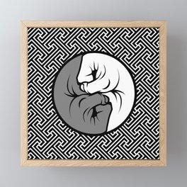 Way of the Fist Framed Mini Art Print