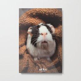 Vintage guinea pig Metal Print