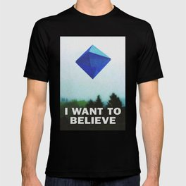 I WANT TO BELIEVE - 5TH ANGEL T-shirt