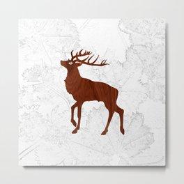 Les Bois Metal Print