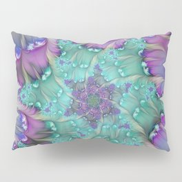 Find Yourself, Abstract Fractal Art Pillow Sham